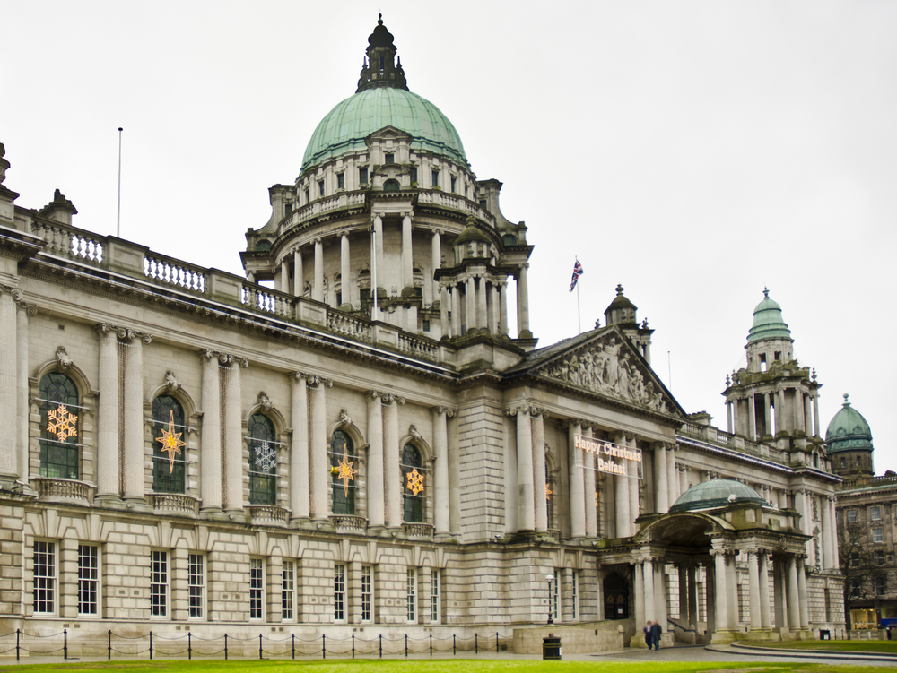 City hall, attractions in Belfast