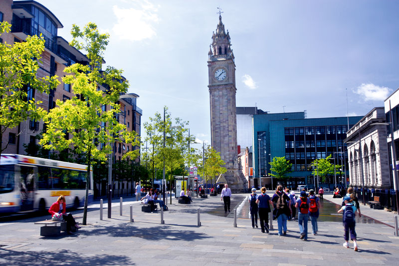 clock tower, attractions in Belfast